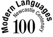 Newcastle University School of Modern Languages centenary logo